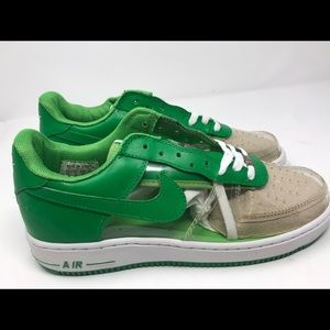 Nike Air Force 1 Size 11 Green Shoes